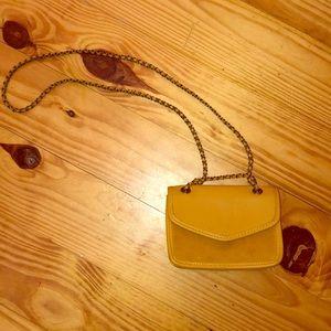 AE yellow Chain Purse